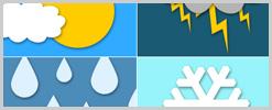 Clima: conheça os sete tipos