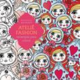 ATELIE FASHION-ESTAMPAS PARA COLORIR
