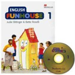 ENGLISH FUNHOUSE BOOK 1 PACK SB+FUN+CD
